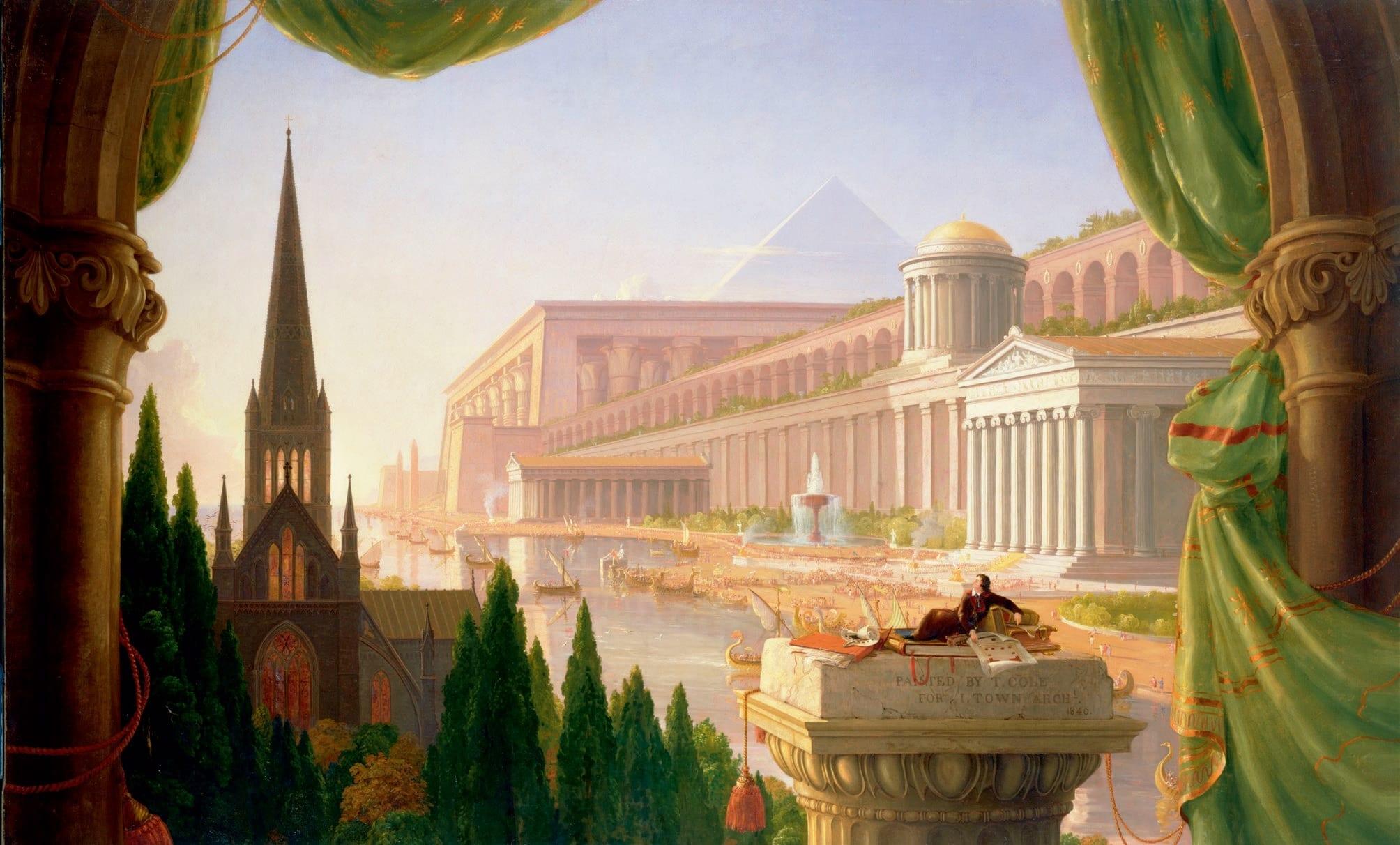 Thomas Cole, Der Traum des Architekten, 1840
