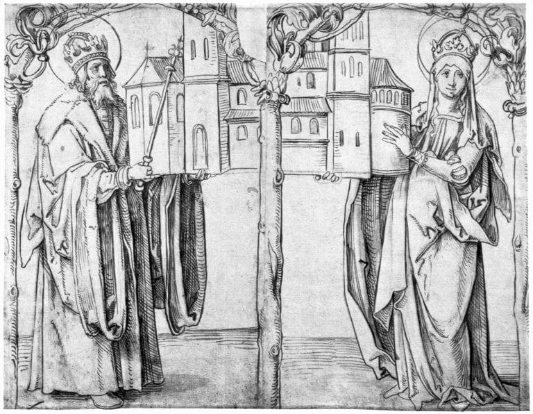 Hans Süß von Kulmbach - Kaiser Heinrich und Kaiserin Kunigunde, circa 1515