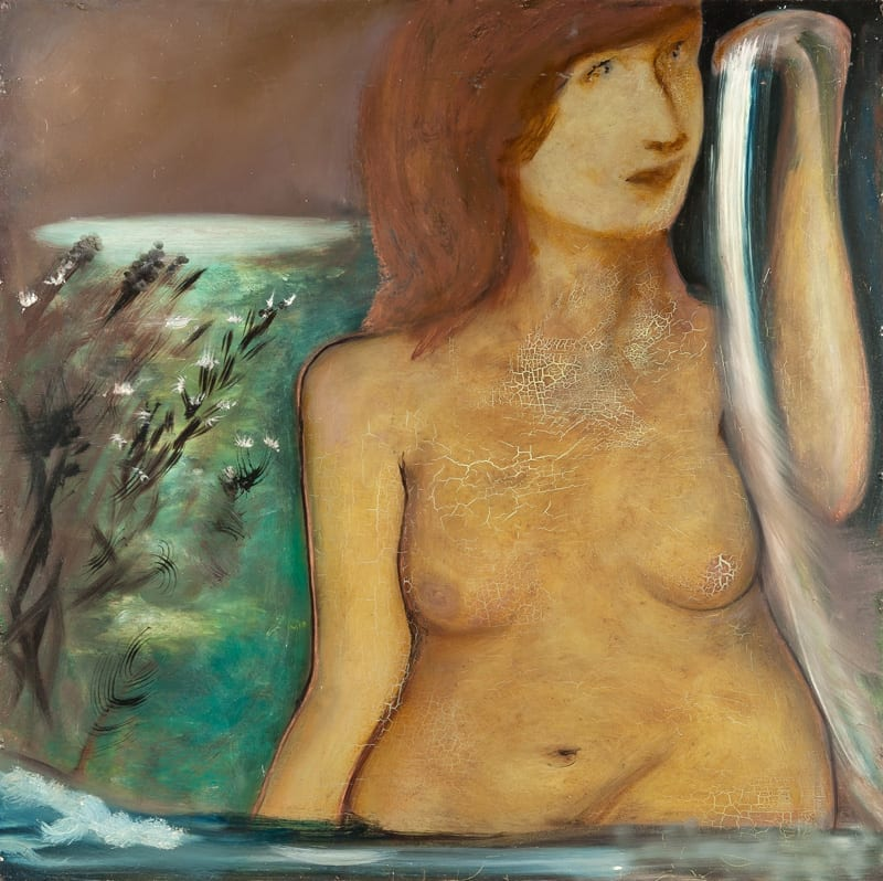 The Night Nymph, 92,5 x 92,5, 2003
