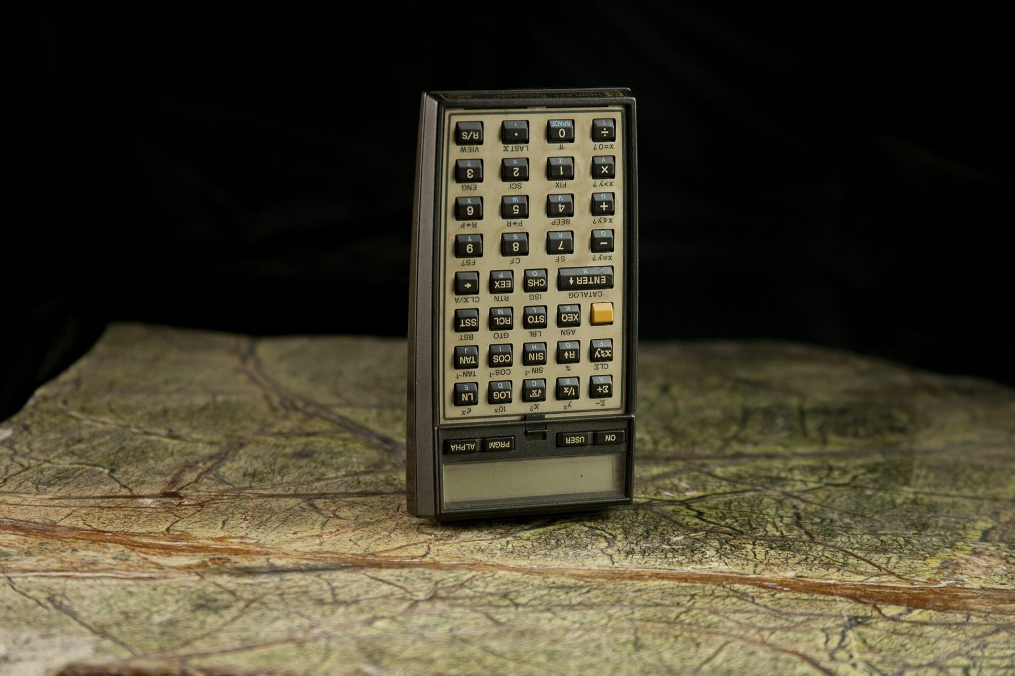 1-11 HP-41CX (ca 1983)