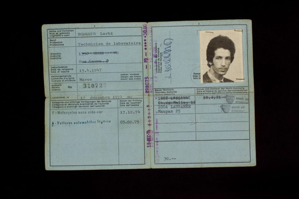 Führerausweis # 310723 | Permis de conduire # 310723 (17. Dezember 1974)