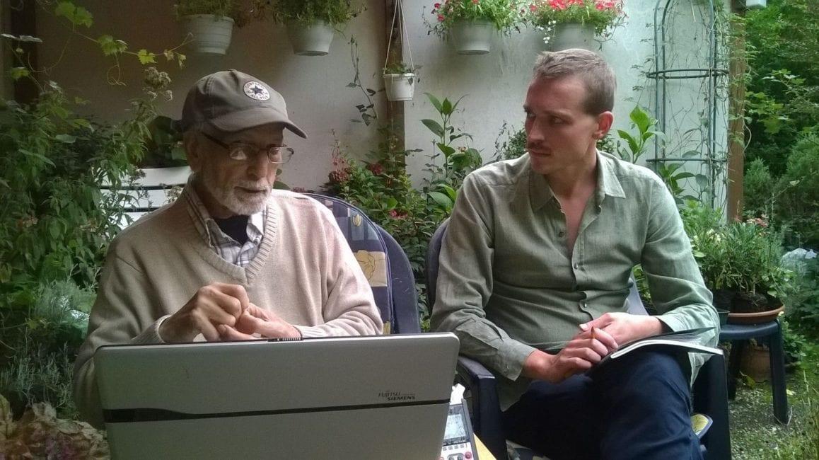 Im Gespräch mit El Arbi Bouqdib im August 2015
