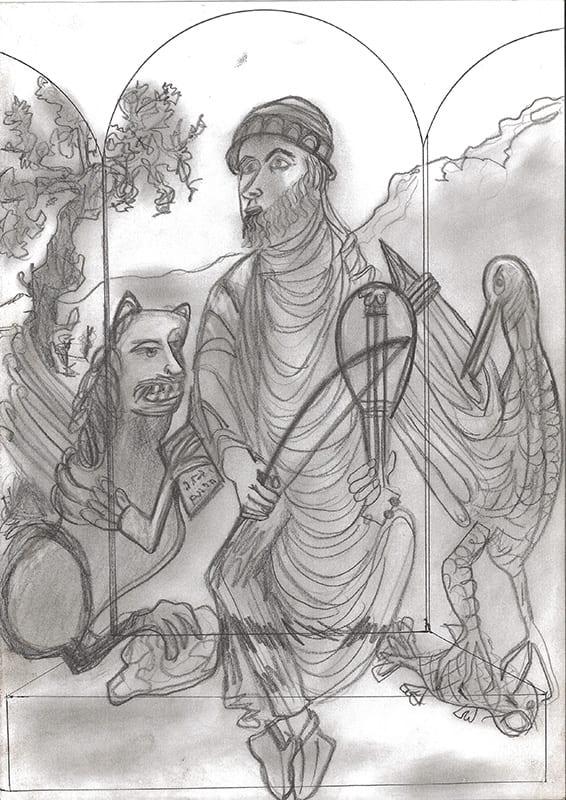 Studie for King David (2005)