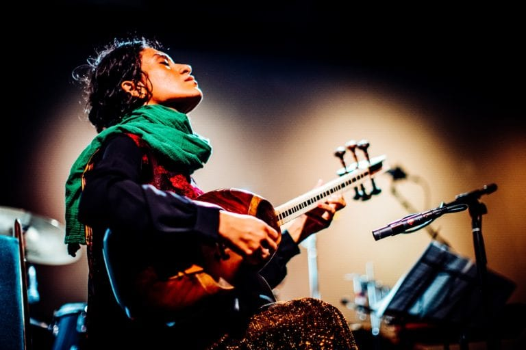 Elshan Ghasimi playing at silkroad festival