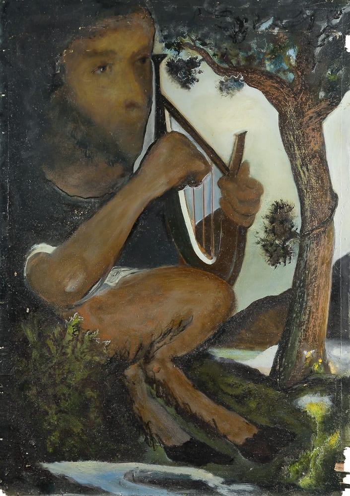 Hilarion Manero - Pan, 69 x 98, 2002
